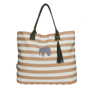 Elephant Canvas Tote Bag