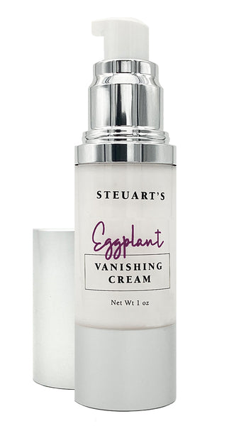 Steuart's Eggplant Vanishing Cream