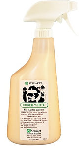 Steuart's Udder White 22oz. Spray Bottle
