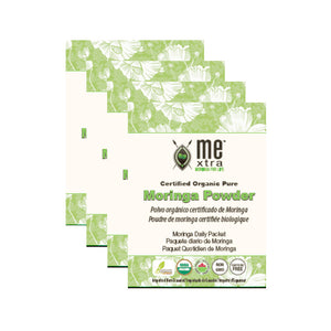 Certified Organic Moringa Powder Single Day Use