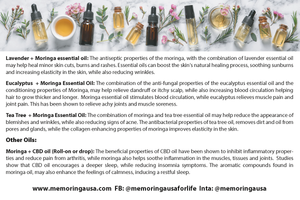 Essential Oil, Moringa and Lavender