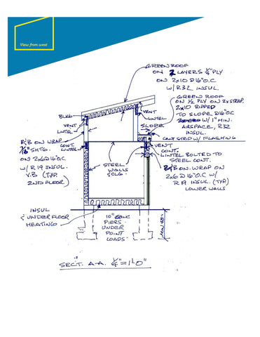Builders-As-Build-Container-House-Drawings