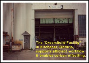the dreambuild container house fabrication facility