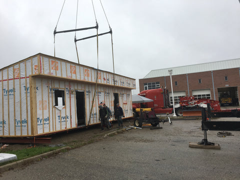 Kitchener-Fire-Department-Container-House-Moving-Complete
