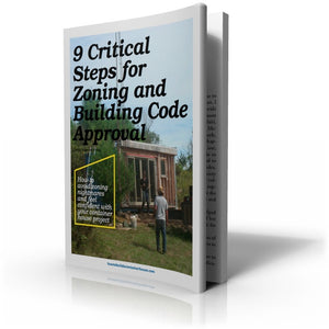 9 Critical Steps for Zoning and Building Code Approval book cover