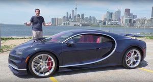 Personalized & Signed Doug Photo (Bugatti Chiron)