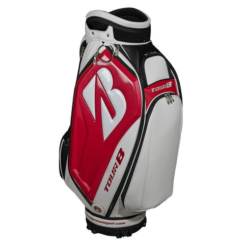 Bridgestone 2020 Tour Staff Golf Bag Red/White