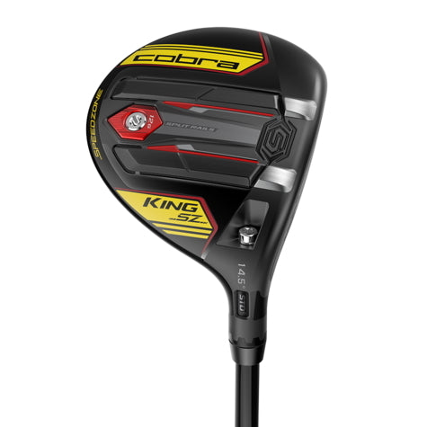 Cobra King SZ Speedzone Black/Yellow Men's Fairway Wood