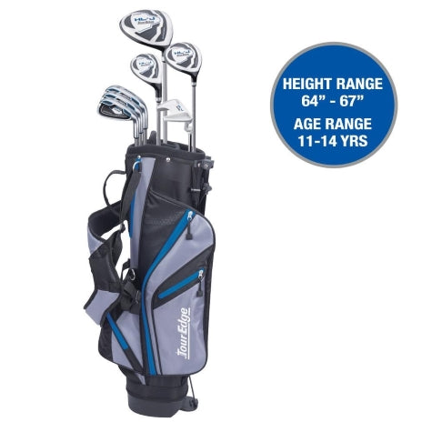 Tour Edge HL-J Junior Set Royal Blue Ages 11-14