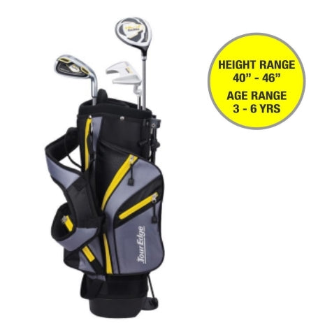 Tour Edge HL-J Junior Set Yellow Ages 3-6