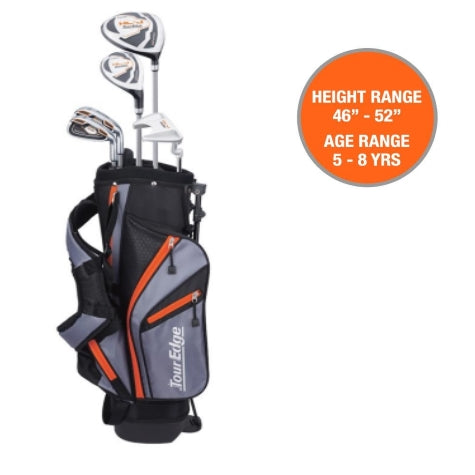 Tour Edge HL-J Junior Set Orange Ages 5-8