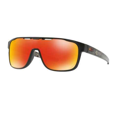Oakley Crossrange Shield Matte Black Sunglasses