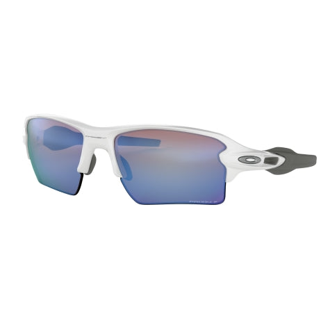 Oakley Flak 2.0 XL Polished White Prizm Sunglasses