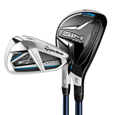 Taylormade SIM Max OS Combo Iron Set 8 Piece Graphite Shaft