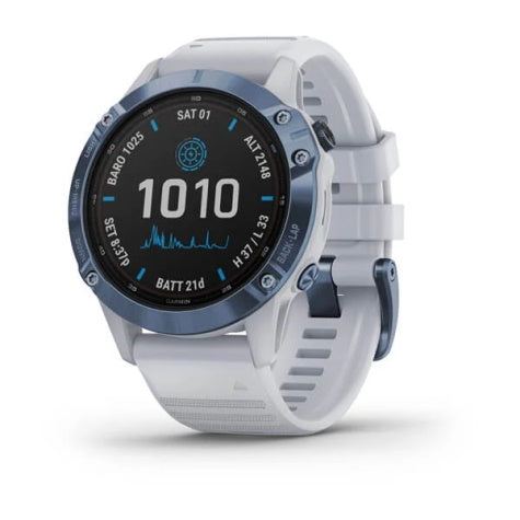Garmin Fenix 6 Pro Solar Edition Mineral Blue Smart Watch