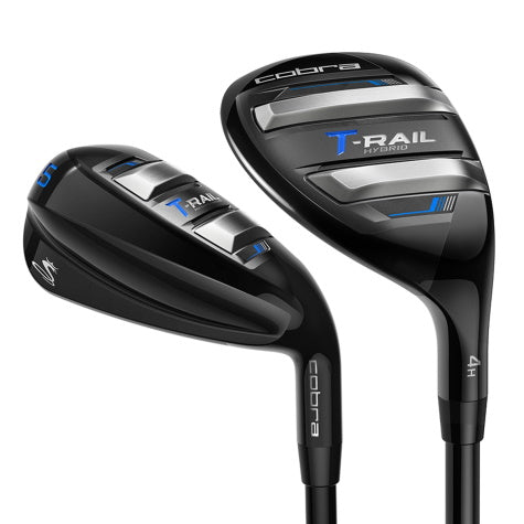 Cobra T-Rail Combo Iron Set Mens Graphite Shaft 4-Hybrid, 5-PW