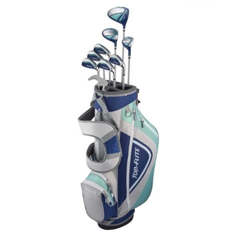Top Flite Womens XL 12-Piece Complete Set – (Graphite) Left Hand– Blue/Grey