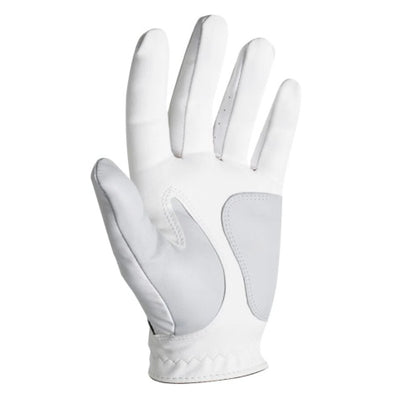 FootJoy WeatherSof White Golf Gloves - 3 Pack