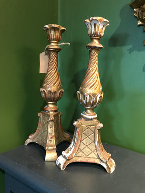 Antique Italian candlesticks (pair)