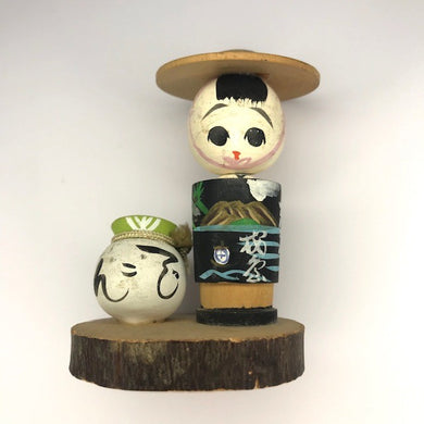 Antique Kokeshi Doll Circa 1920- Byakko