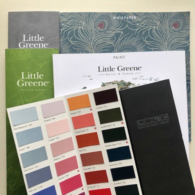 Little Greene and Paint & Paper Library Paint Brochures