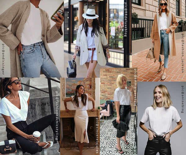Ultimate white t-shirts