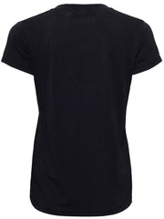 Coko V-neck T-shirt - Black