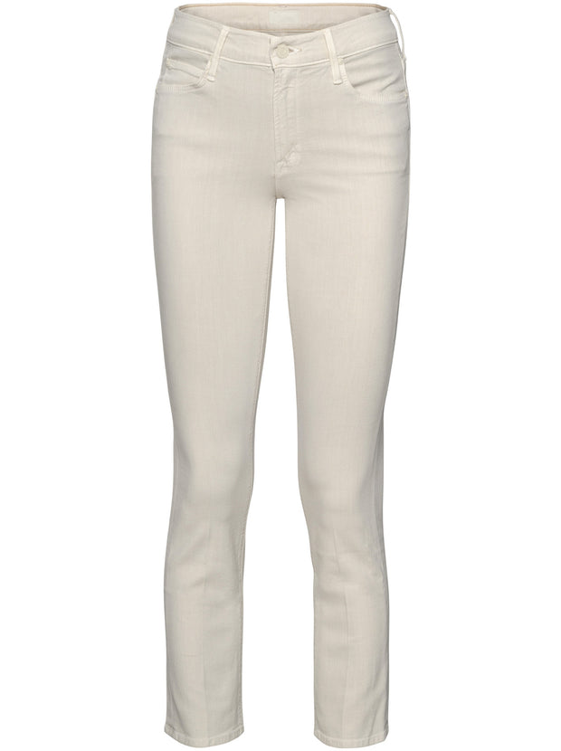 The Mid-Rise Dazzler Ankle Jeans - Ivory
