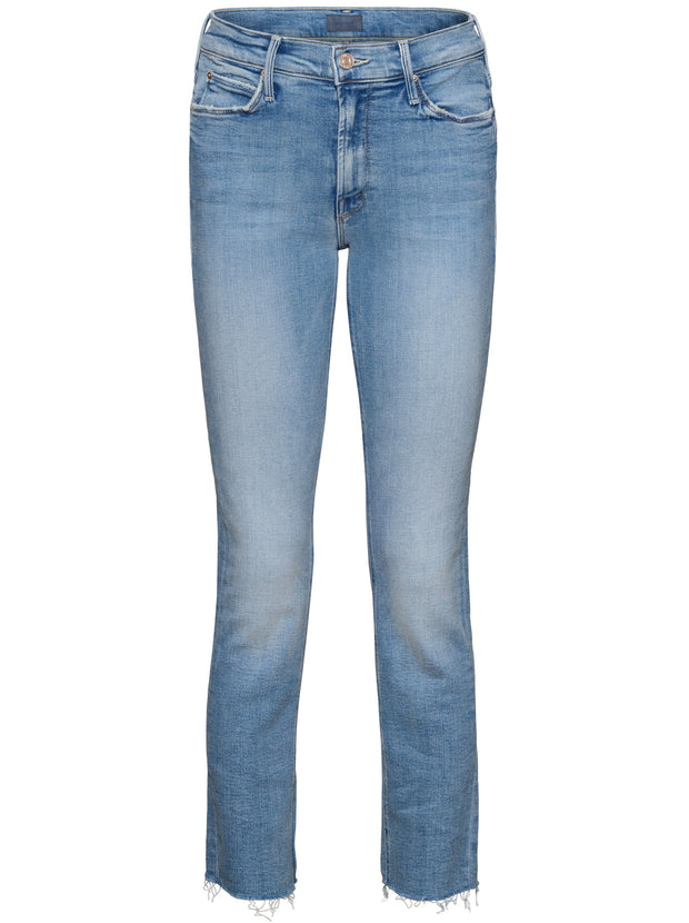 The Mid-Rise Dazzler Ankle Fray Jeans - Dropping In