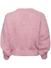 Vogbay Mohair-Blend Sweater - Prunelle Chine