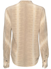 Pavotta Silk Blouse - Timberwolf