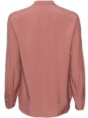 Relaxed Band Collar Blouse - Esme