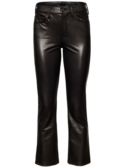 Insider Ankle Faux Leather Jean - Faux Show