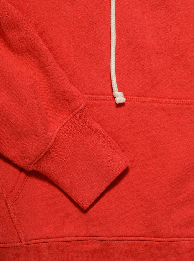 Classic Cotton Hoodie - Vintage Red