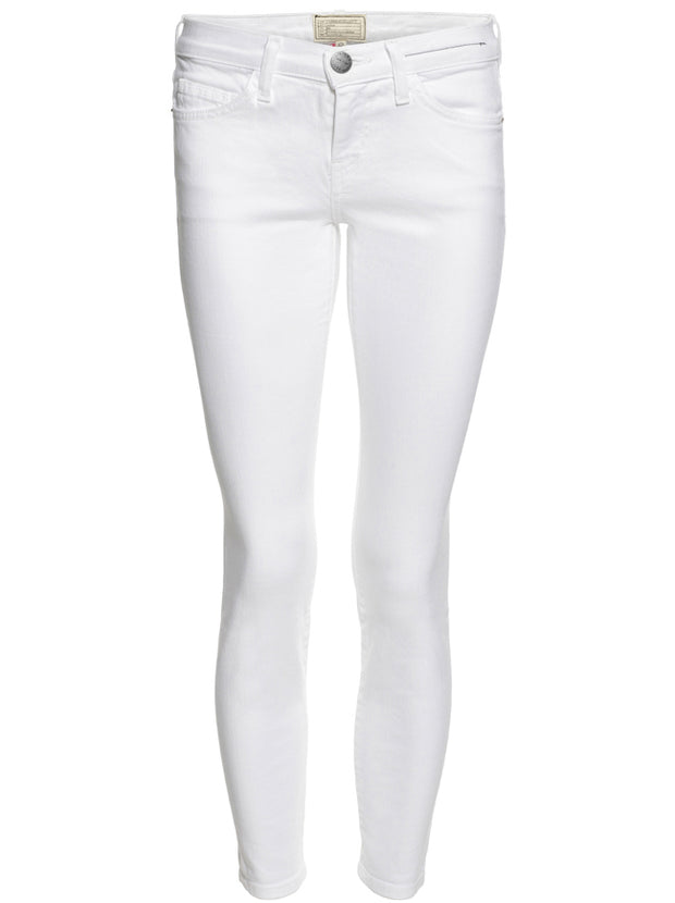 The Stiletto Mid-Rise Skinny Jean - Clean White