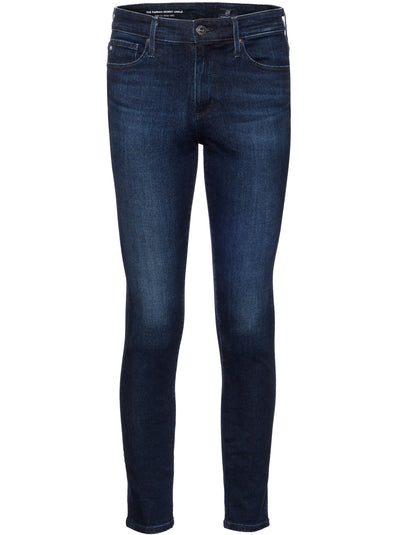 The Farrah High-Rise Ankle Skinny - Valiant