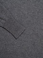 Sanni Crew Neck Cashmere Sweater - Heather Grey