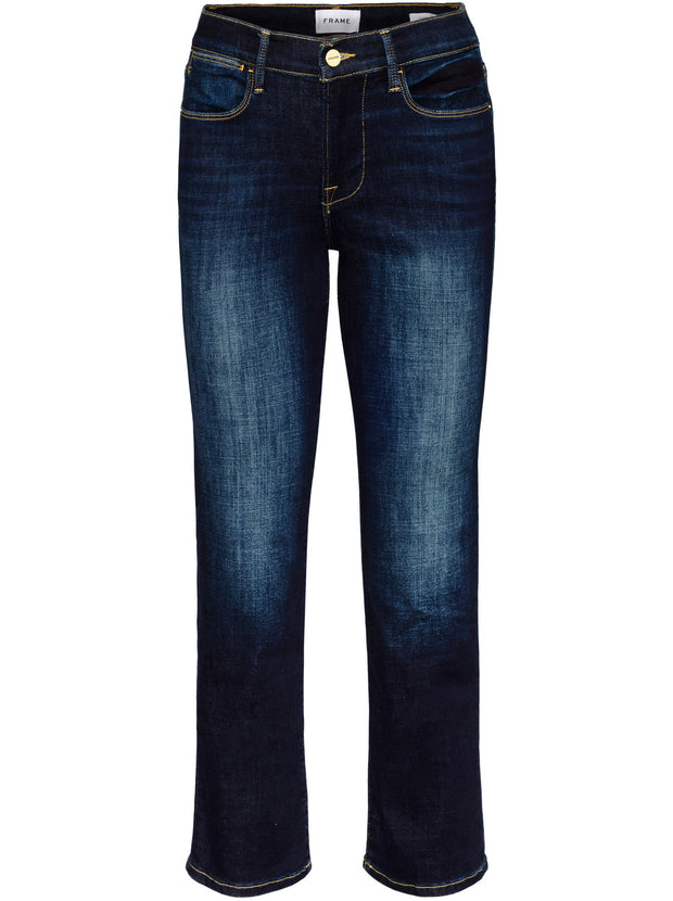 Le High Straight Slim-Fit Jean - Freemont