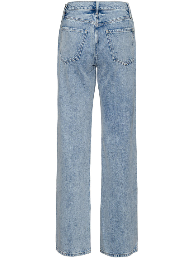 Le Jane High-Rise Straight Jeans - Richlake