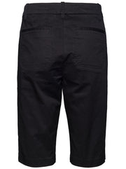 Coin Pocket Bermuda Shorts - Black