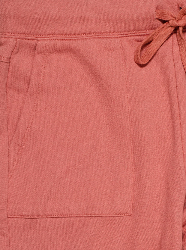 Noa Cotton Trackpants - Light Mahogany