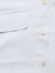 Slim Signature Silk Shirt - Nature White