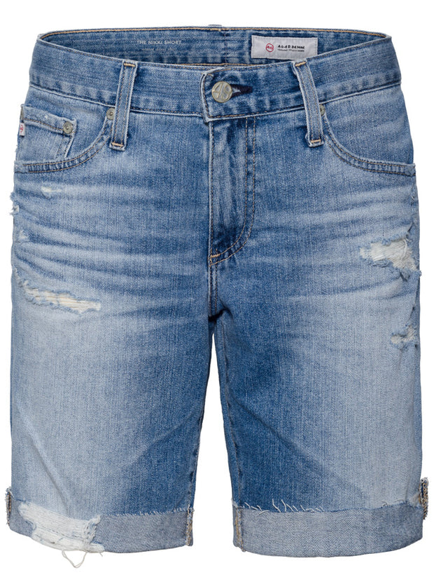 Niki Denim Shorts - 16 Years Destructed