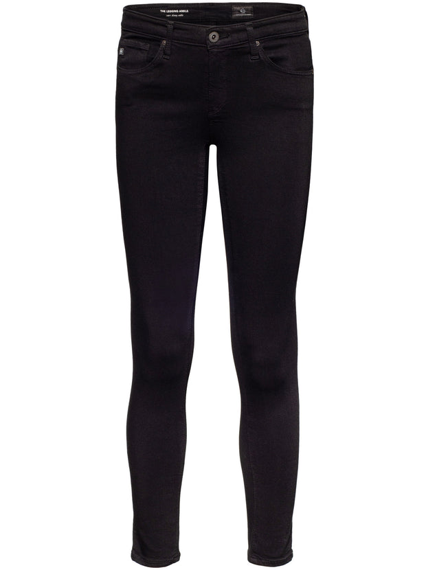 Legging Ankle Mid-Rise Skinny - Super Black