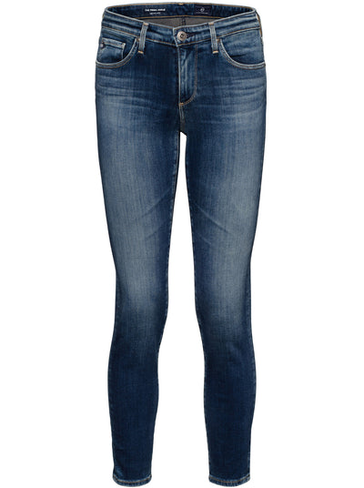 Prima Ankle Mid-Rise Straight Leg Jean - Submerged