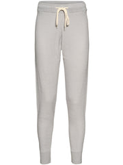 Alice Cotton Knit Sweatpants - Grey