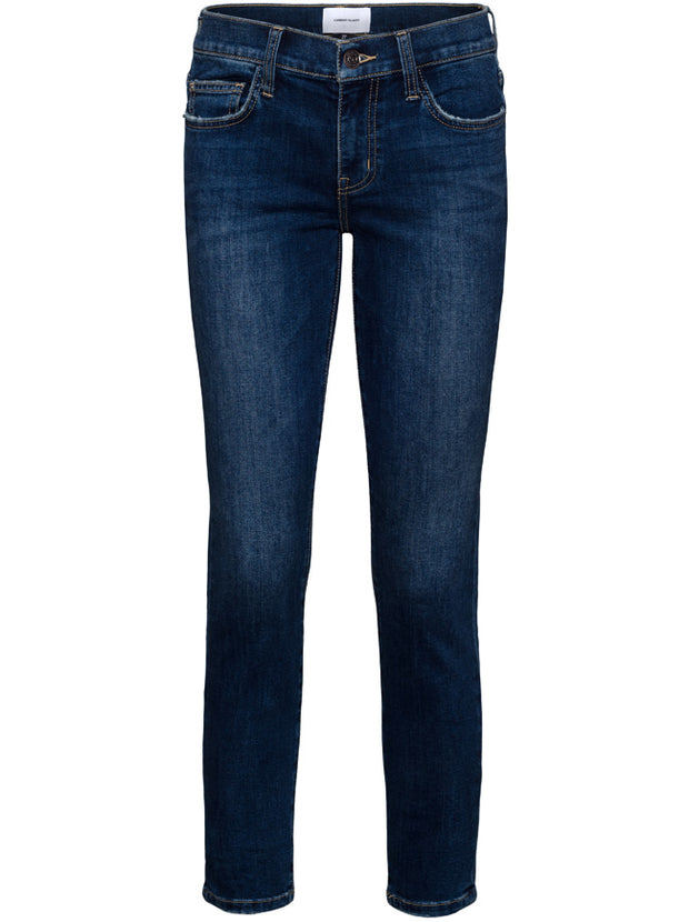 Stiletto Mid-Rise Skinny - 1 year Worn Indigo