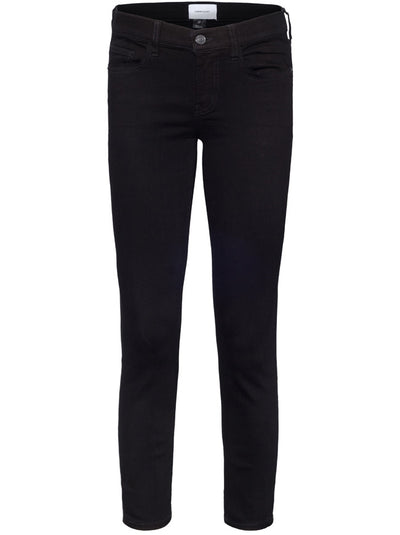 The Stiletto Mid-Rise Skinny - Black