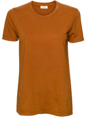 Fizvalley Cotton T-Shirt - Vintage Brown