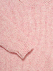 Fogwood Wool-Blend Sweater - Wild Rose